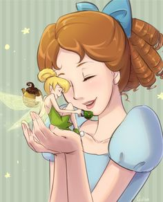 Disney - Wendy with Tink