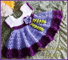 Cute dress, lovely colors. Sugar n Spice Dress by Crochet Supernova on Ravelry