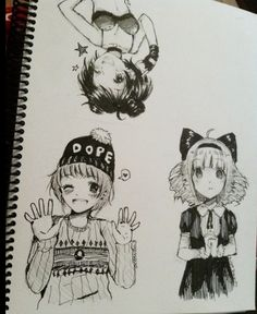 Anime drawings- tootokki ʕ •ᴥ•ʔ