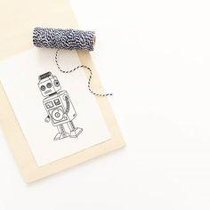 Robot printable by @birambi_ on instagram