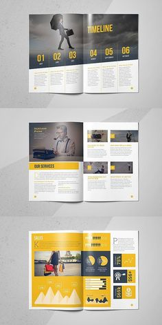 Design a stunning brochure in minutes. Get Brochure Design Services here. Showcase your business, products, and services when you create custom brochures. Graphic Design Brochure, Corporate Brochure Design, Creative Brochure, Brochure Design Inspiration, Brochure Layout, Business Brochure, Page Layout Design, Magazine Layout Design, Magazine Layouts