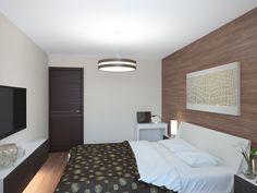 Интерьер квартиры в стиле хай-тек. Спальня (Интерьеры) - фри-лансер Alena…
