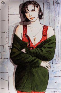 Arte Zombie, Jordi Bernet, Graphic Novel Art, Morris, Fantasy Comics, Call Art, Cecile, Illustration Girl, Comic Artist