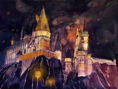 Hogwarts School of Witchcraft and Wizardry by takmaj on deviantART