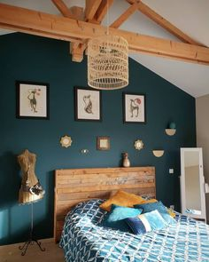 colors to paint a bedroom ideas \ colors to paint a bedroom + colors to paint a bedroom ideas + colors to paint a bedroom colour schemes + colors to paint a bedroom small rooms Bedroom Colors, Bedroom Decor, Bedroom Wall, Bedroom Ideas, Interior Design Minimalist, New Room, Interior Design Living Room, Sweet Home, New Homes