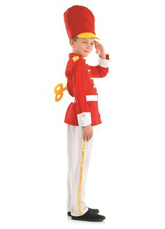 Tin Soldier Boy childrens dress up costume by Fun Shack
