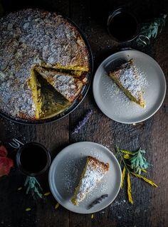 Book Club: Green Kitchen Travels // Ricotta and Polenta Almond Cake
