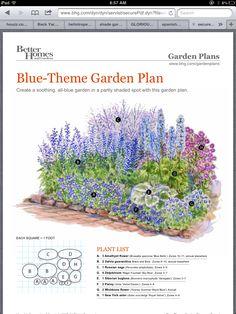 BHG garden plan