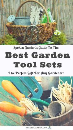 It& time to find the perfect present for the beginning gardener, pruning fanatic, or dirt lover in your life! Look no further than our selection of best garden tool sets that we& found for you! Gift sets offer a variety of tools and products to use. Garden Tool Organization, Garden Tool Storage, Garden Tool Set, Box Garden, Best Garden Tools, Garden Guide, Gardening For Beginners, Gardening Tips, Organic Gardening
