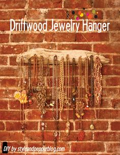 Style and Pepper: Spice up your Space // Driftwood Jewelry Hanger