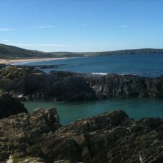 Woolacombe, England  Went surfing here at moonlight!! Unforgettable!