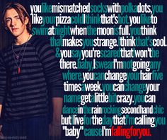Love this song. Fallin' for you by R5 Lyrics, Rocky Lynch, You Dont Care, Lyric Art, When You Realize, Song Quotes, Love Songs, Cool Bands, Justin Bieber