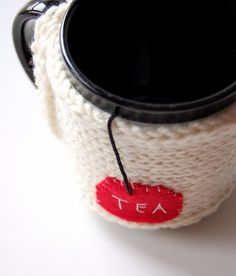 Check out all the other cozies in her 'My Creations' set on Flickr. Awesome creativi · tea -ation going on there!