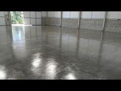 Aplicação de resina em concreto polido e cimento queimado. - YouTube Hardwood Floors, Flooring, Home, Polished Cement Floors, Polished Concrete Flooring, Woodburning, Resins, Wood Floor Tiles, House