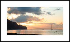 Fotoobraz - Východ slunce ve Funchalu, Madeira. Foto: Josef Fojtík - www.fotoobrazarna.cz - https://www.facebook.com/Fotoobrazarna.cz