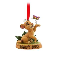 Simba Sketchbook Ornament - ''Baby's First'', Disney The Lion King 2017