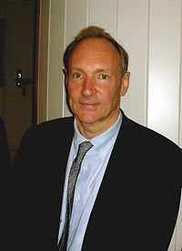 Tim Berners Lee is my new admiration. Thanks to him, millions can express their mind and shout to the world. Thanks to him, I was able to reencounter with some of my best friends from highschool... Thanks to him, the distance between me and my boyfriend doesn't seem to terribly long. So Thankyou Mr Berners for creating the internet ^^