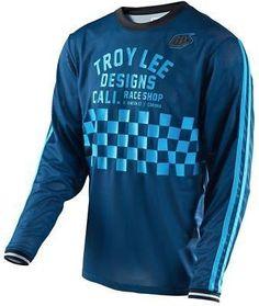 3a96ef234432f Details about Troy Lee Designs Grind Flannel Long-Sleeve Jersey - Men s