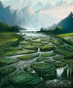 Fantasy Landscapes by Roberto Nieto