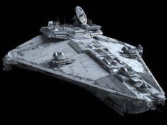 Vigil-class Star Corvette | Fractalsponge.net