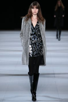 Saint Laurent Fall 2014 RTW - Runway Photos - Fashion Week - Runway, Fashion Shows and Collections - Vogue