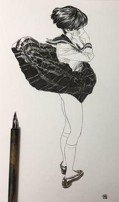 博/ゆめくり④発売中 on Twitter: スカートの波
