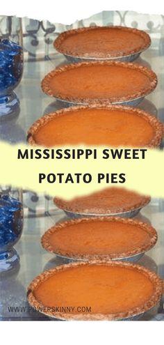 MISSISSIPPI SWEET POTATO PIES   Min Yx Games Mississippi Sweet Potato Pie Recipe, Southern Sweet Potato Pie, Sweet Potatoe Pie, Köstliche Desserts, Delicious Desserts, Flan, Graham Cracker, Cake Recipes, Dessert Recipes