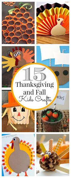 15 Thanksgiving Kids Crafts - Classy Clutter