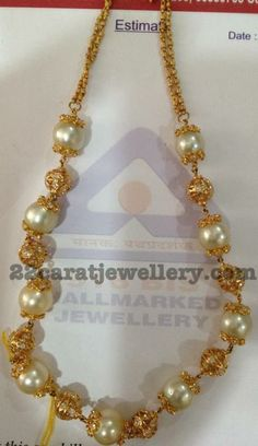 Jewellery Designs: Kids South Sea Pearls Set