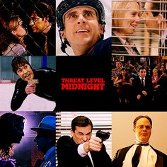 threat level midnight. defeat goldface!!