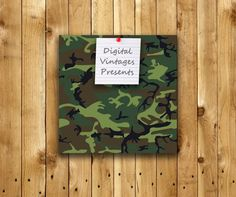 Camouflauge digital paper Cammo Camo Patterns by DigitalVintages