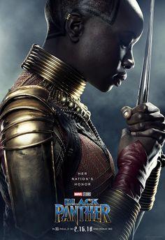 Black Panther Character Poster: Okoye