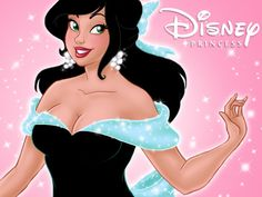 Disney Princess ID - now with the correct link - by *uppuN on deviantART. I´m still waiting for a plus size Disney princess. :)