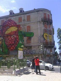 street art in Lisbon, Portugal