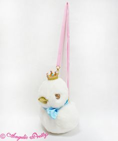 Angelic Pretty Milky Swan Stuffed Pouch