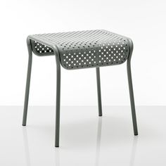 Perforated metal stool by Antoine Phélouzat - Bensimon Gallery X La Redoute Collection