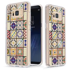 Colorful Portuguese Tiles [v2] Slim Protective Case for Galaxy S8