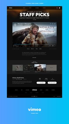 This is a redesign of Vimeo – a niche community of extraordinary professional motiongraphers and film fanatics. As a motiongraphic designer and someone who is passionate about UI design, I felt that the website needed a design overhaul without losing it's…