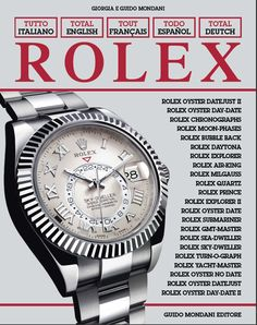 Guido Mondani Editore Authors: Giorgia and Guido Mondani 280 pages, cm 25,5 X 31,5  http://www.collectingwatches.com/en/our-editions/product/view/2-books-about-rolex/7-total-rolex.html