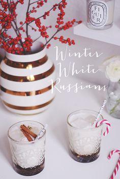 Fredagscocktail: Winter White Russians - Emily Salomon