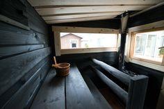 Sauna Ideas, Saunas, Cabins In The Woods, Villa, Cottage, Building, Scotland, Wellness, Gardening
