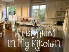 Working Hard in My Kitchen