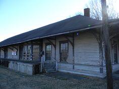 Old Train Depot - Florence, Alabama