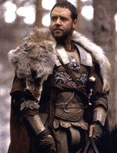 General Maximus Decimus Meridius, Russell Crowe: Gladiator.