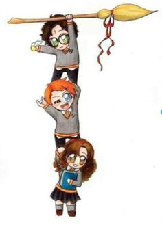 harry potter ronald weasley and hermione granger