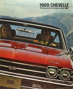 1969 Chevrolet Chevelle Brochure SS 396 Malibu Excellent Orig 69 Not A Reprint Chevrolet Chevelle, 1969 Chevelle Ss, Chevrolet Malibu, Retro Cars, Vintage Cars, 1960s Cars, Vintage Auto, Chevy Muscle Cars, Car Advertising