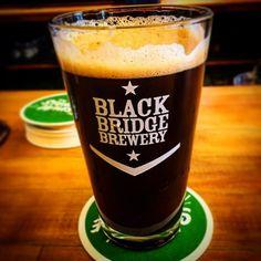 Tasty Black IPA cask by @blackbridgebeer at @beerbros tonight.  #SKbeer #