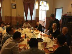Gracias por la visita a la comunidad del Santísimo Redentor para felicitar a Manuel García Blanco, CSsR.