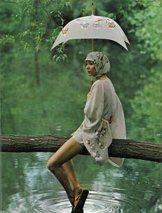Marie Helvin by Barry Lategan 1971