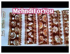 Pretty Henna Designs, Floral Henna Designs, Mehndi Designs Feet, Full Hand Mehndi Designs, Mehndi Designs 2018, Mehndi Designs For Girls, Henna Art Designs, Mehndi Designs For Beginners, Wedding Mehndi Designs